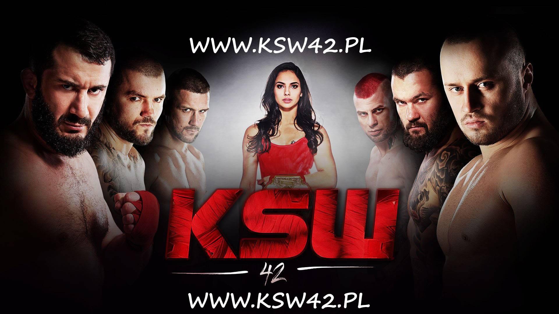 Gala KSW 42 Transmisja Online – Sprawdź gdzie oglądać!